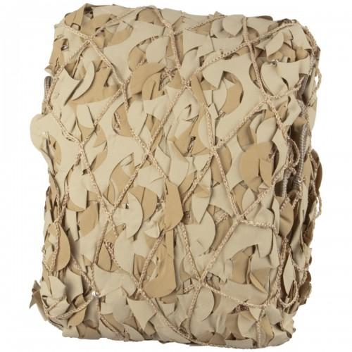 Filet camouflage 6x3m Beige Extérieur