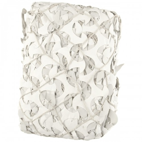 Filet camouflage 3x3m Blanc/gris Extérieur