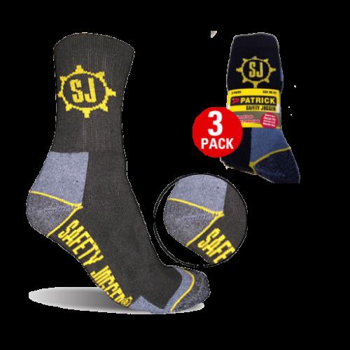 Lot de 3 paires de chaussettes Safety Jogger