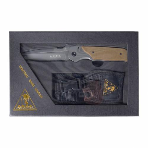 Couteau de poche ARES sand warrior