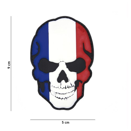Patch Skull France