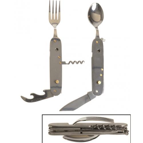 Couteau de bivouac 6 en 1