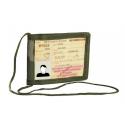 Porte-carte d'identité militaire