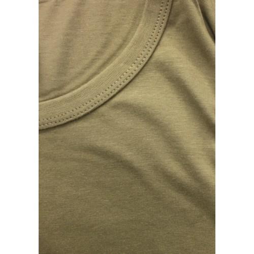 tee shirt beige type félin coton
