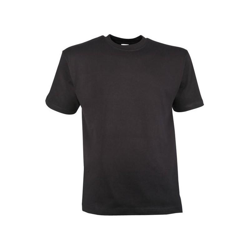 Tee shirt noir 180 gr