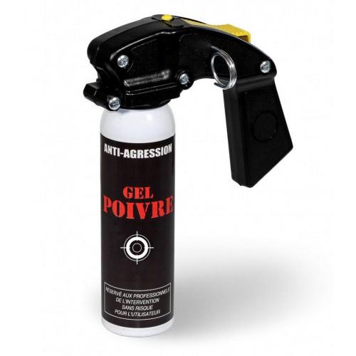 Aérosol anti-agression super pro - gel poivre - 100 ML poignée