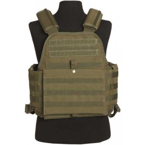 Gilet carrier plate coyote