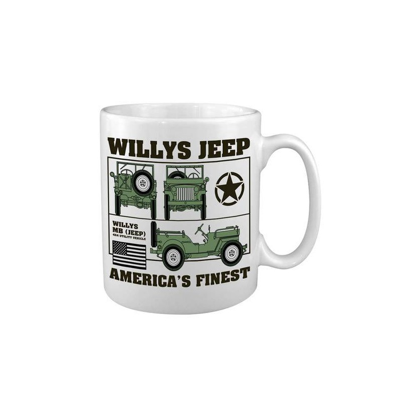 Tasse Willys Jeep