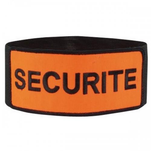 Brassard sécurité velcro-elastique