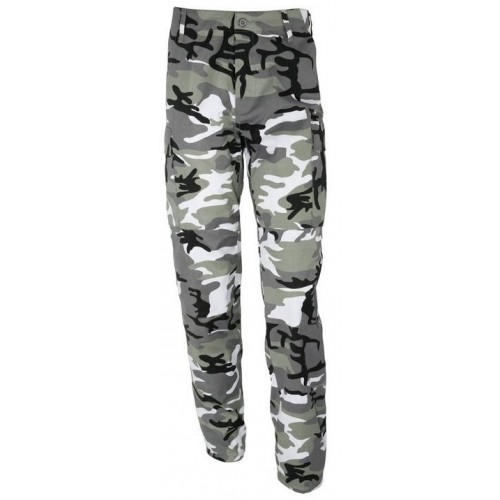 Pantalon BDU US M65 Urbain Gris