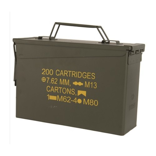 CAISSE À MUNITION STEEL M19A1 CAL.30 US