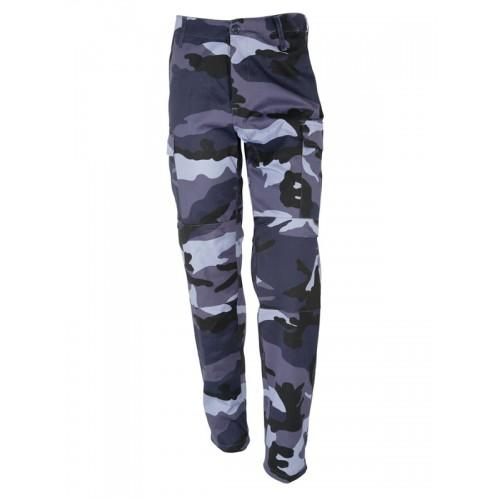 Pantalon BDU Urbain bleu