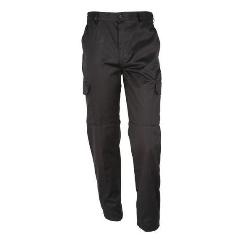 Pantalon polycoton Noir